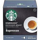 Café em Cápsula, Starbucks, Nescafé, Dolce Gusto, Espresso Roast, 12 Cápsulas