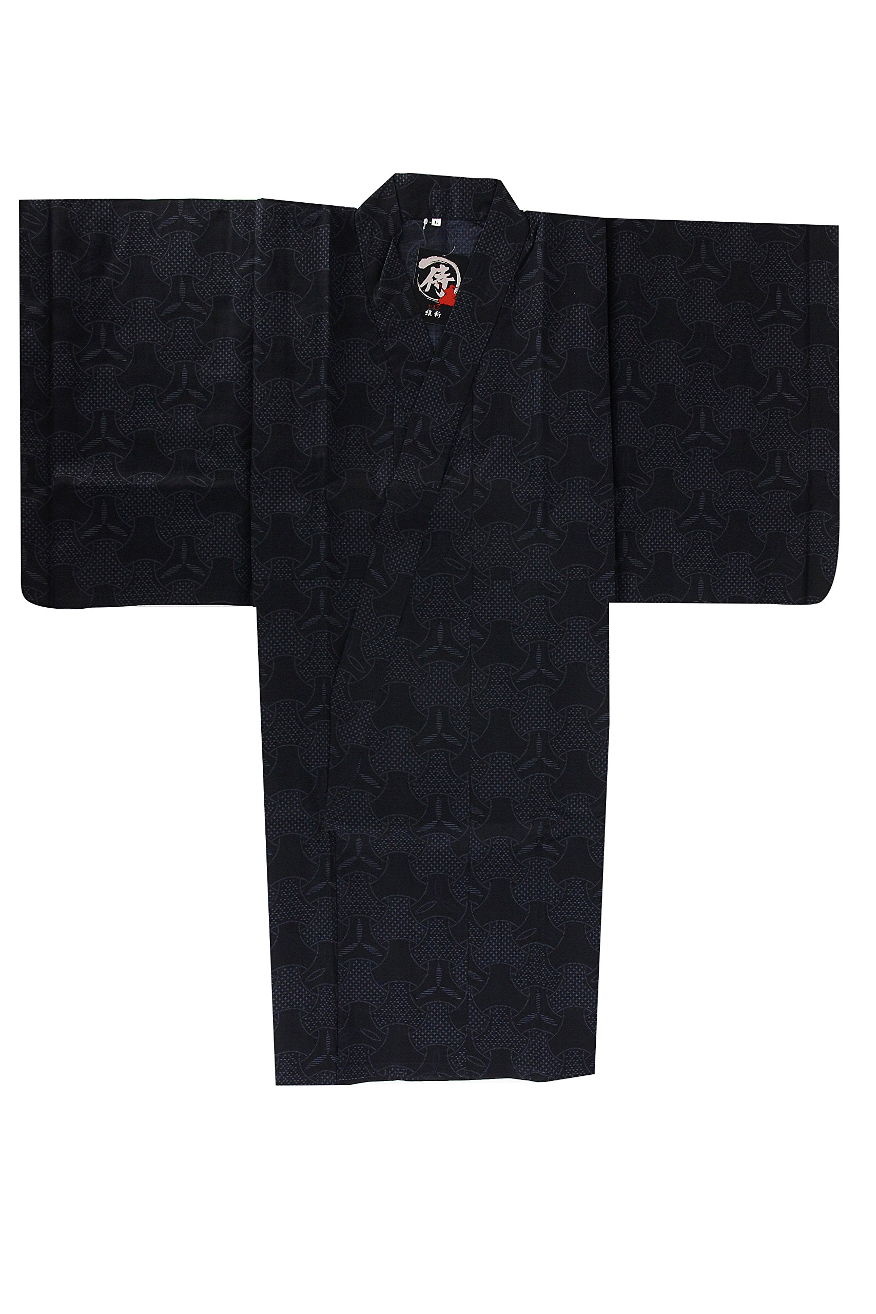 Edoten Japanese Samurai Hakama Uniform Shirt Tops 1773NV XL