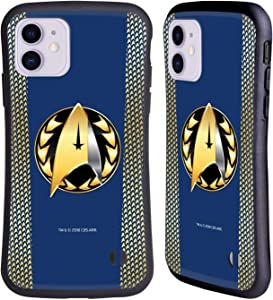 Head Case Designs Officially Licensed by Star Trek Discovery Admiral Badge Uniforms Hybrid Case Compatible with Apple iPhone 11