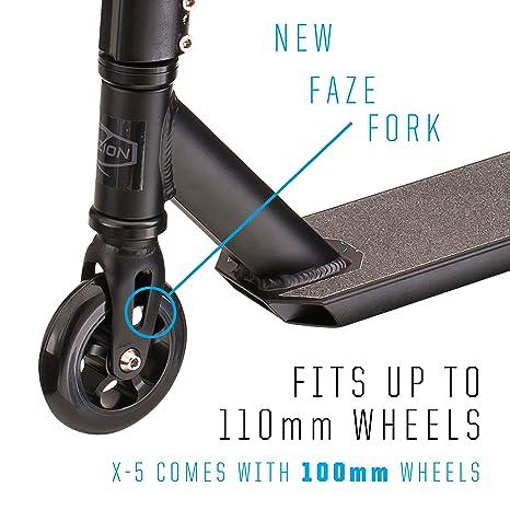 Amazon.com: Fuzion X-5 Pro Scooters - Patinete para ...