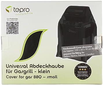Tepro Universal Abdeckhaube Für Holzkohlegrill Toronto : Tepro universal grillabdeckhaube für gasgrill klein schwarz 60 x