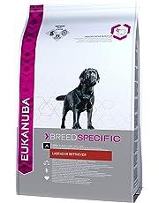 Eukanuba Breed Specific Hundefutter – Trockenfutter in der Geschmacksrichtung Huhn speziell für ausgewachsene Labrador Retriever