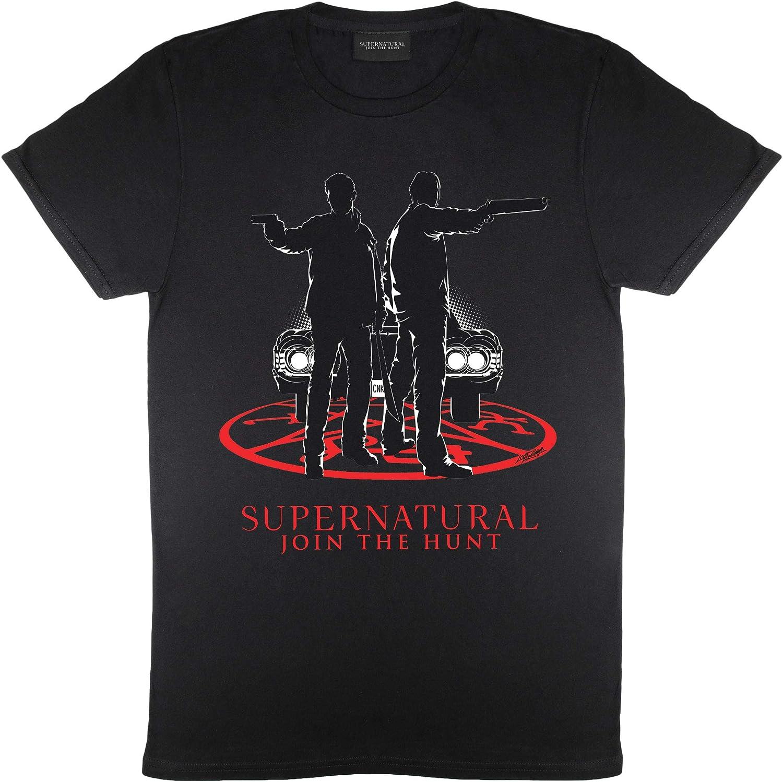 Popgear Supernatural Winchester por la luz del Coche Novio Camiseta Apta de Las Mujeres   mercancía Oficial