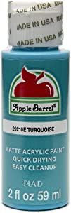 Apple Barrel Acrylic Paint in Assorted Colors (2 oz), 20210, Turquoise