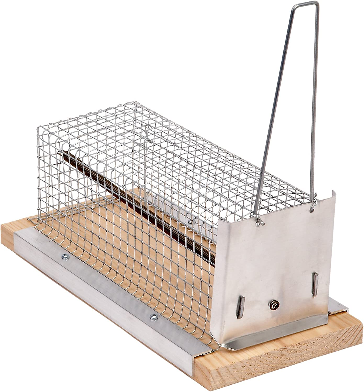Sauvic 05195 - Trampa para ratones de tela métalica, 21 cm.