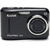 KODAK FZ43 Digital Still Camera - Black (27 mm Lens, 4x Zoom, 16 MP) 2.7-Inch LCD Screen