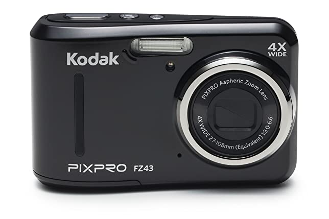 Kodak Pixpro Friendly Zoom FZ43 16 MP Digital Camera with 4X Optical Zoom and 2.7&quot; LCD Screen,Black <span at amazon