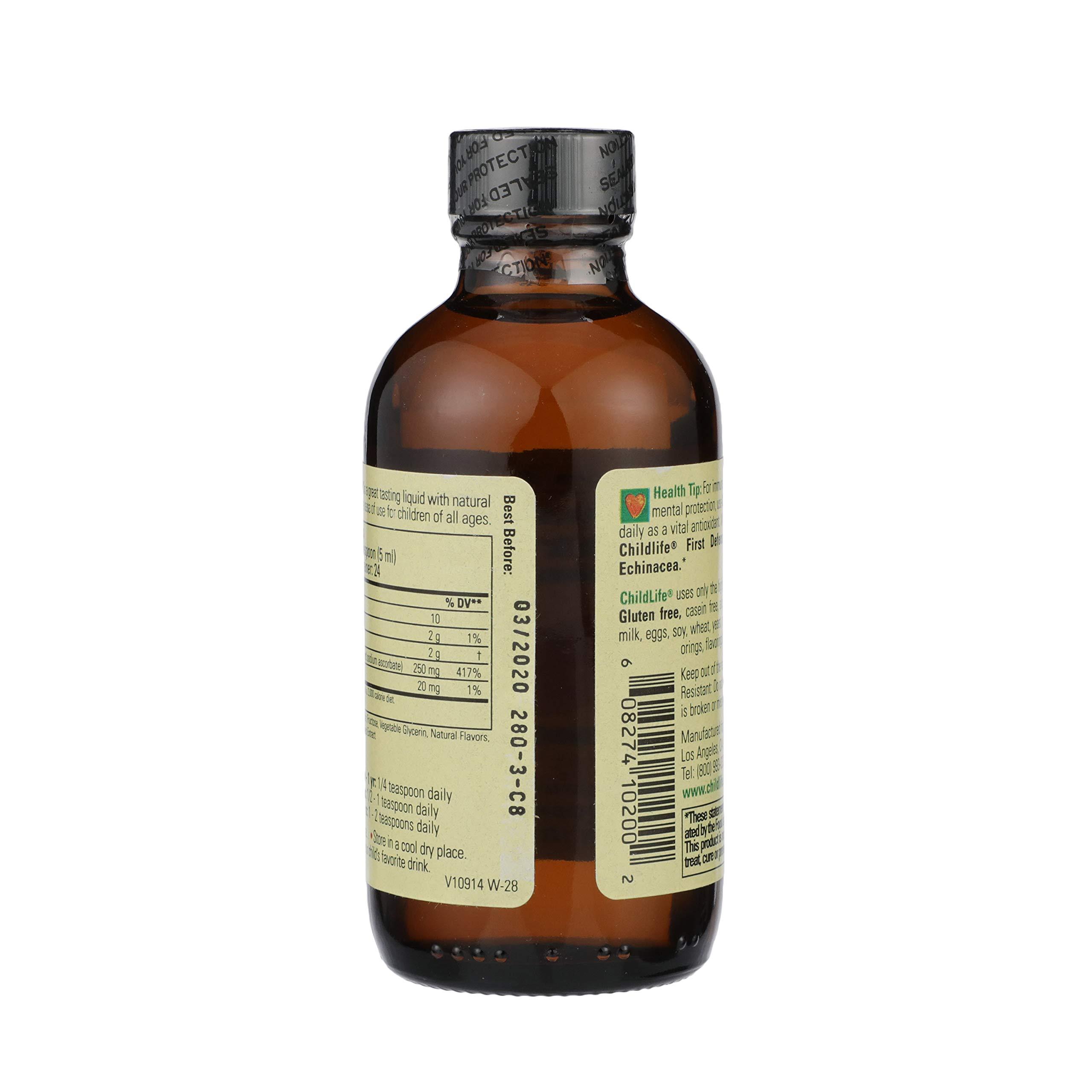 ChildLife Essentials Liquid Vitamin C Immune Support, for Infants, Babys, Kids, Toddlers, Children, and Teens, Orange…