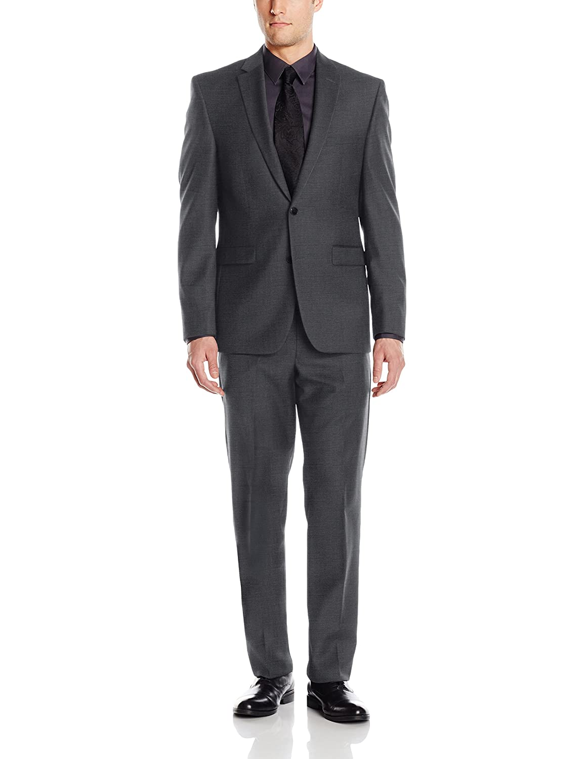 Vince Camuto Men s Two Button Slim Fit Solid Suit at Amazon Men s Clothing  store  ea687b089