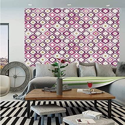 Amazon Com Geometric Removable Wall Mural Doodle Style