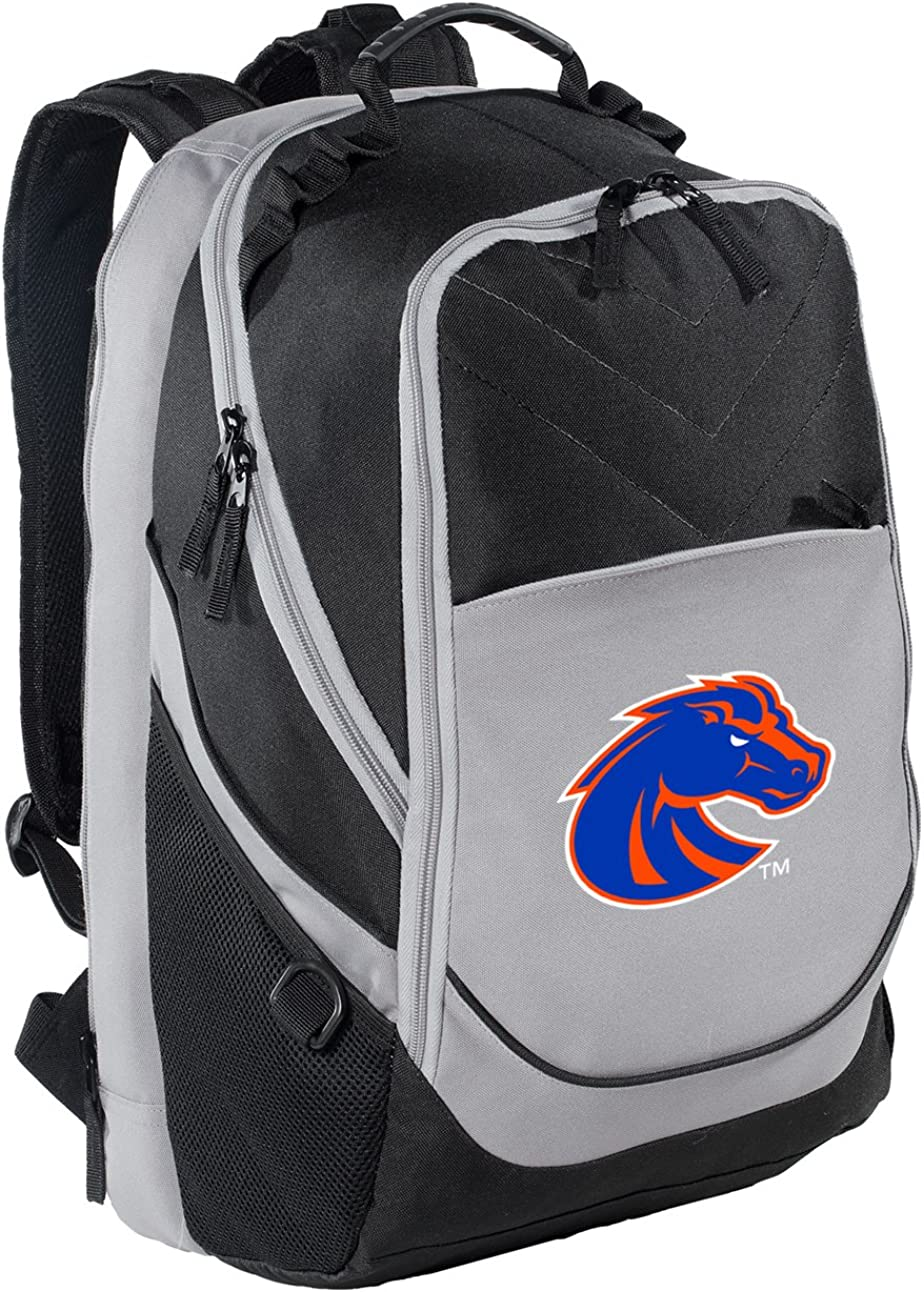 Cool MESH /& Microfiber Broad Bay Official Boise State University Drawstring Backpack Boise State Cinch Bag