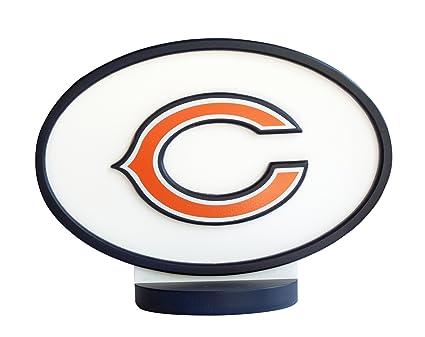 Amazon Adventure Furniture N0530 Chi Chicago Bears Logo Art