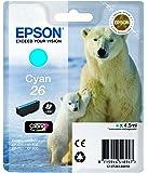 Epson T2612 Tintenpatrone Eisbär, Singlepack cyan