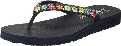 Meditation - Daisy Delight Flat Sandals