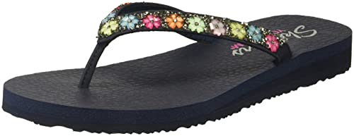 7ee67837032b Skechers Women s Meditation - Daisy Delight Flat Sandals  Amazon.ca ...