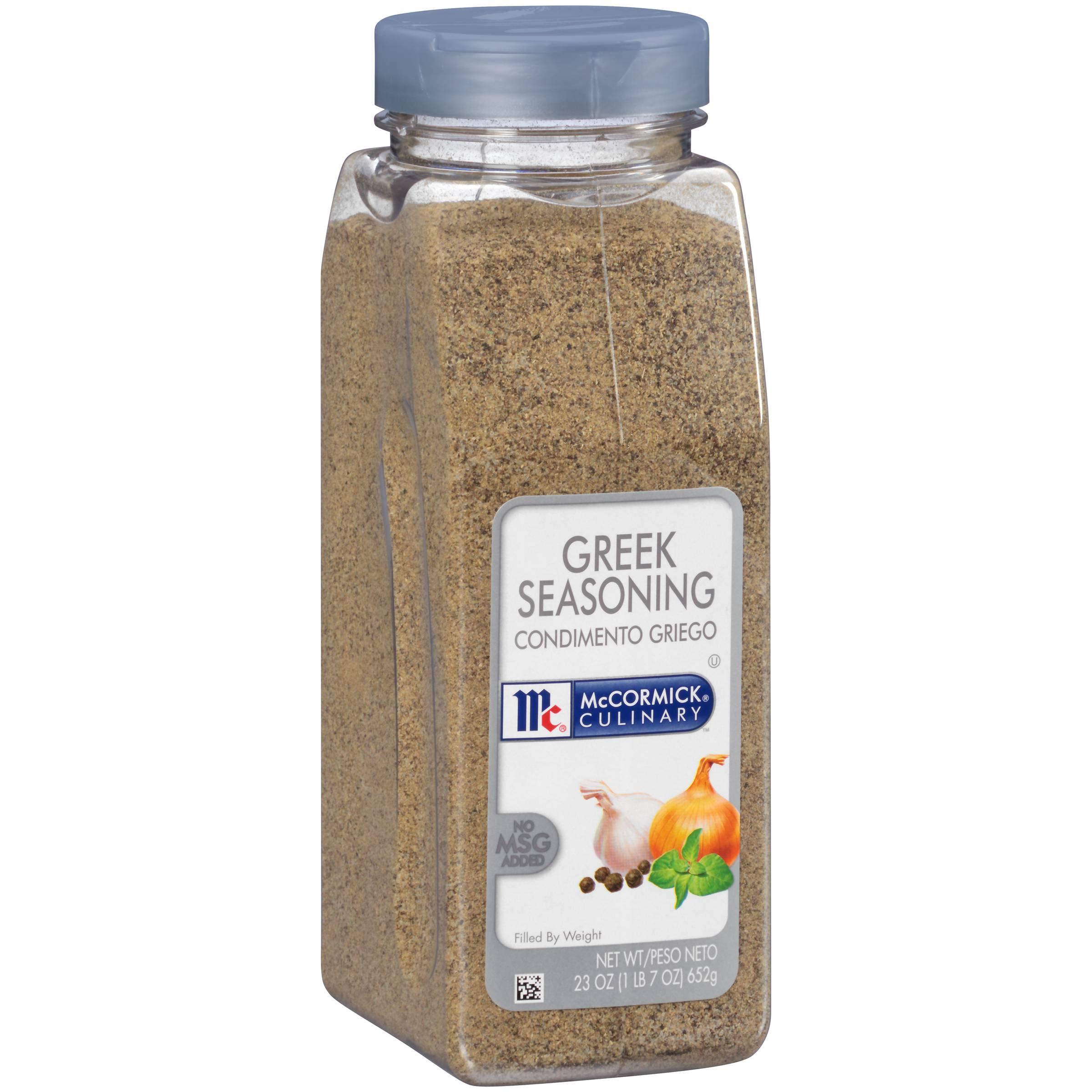 McCormick Greek Seasoning - 23 oz. container, 6 per case