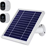 iTODOS Solar Panel Compatible with Arlo Pro and Arlo Pro 2, 11.8Ft Outdoor Power Charging Cable and Adjustable Mount…
