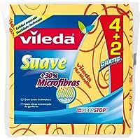 Vileda Suave - Bayetas suaves con 30% microfibras