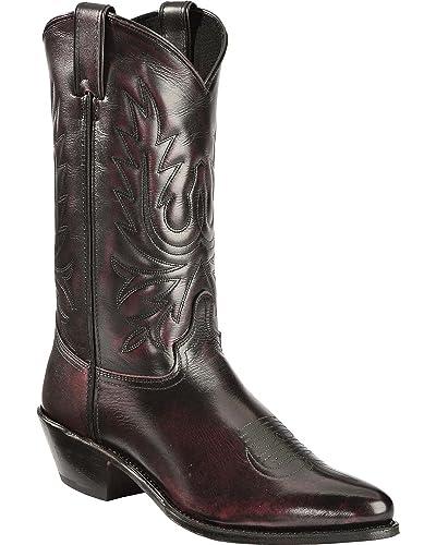 Abilene Men's Cherry Polished Cowhide Boot 6461
