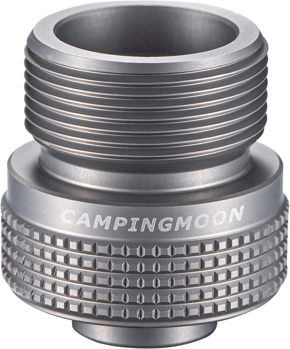Aluminum Alloy Camping Stove Butane Gas Adapter Convert Fuel 4.4*3cm L7Q2