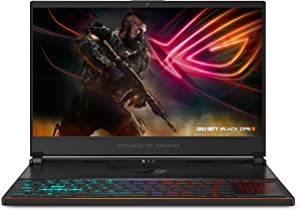 ASUS ROG Zephyrus S Ultra Slim Gaming PC Laptop, 15.6in 144Hz IPS-Type, Intel i7-8750H GeForce GTX 1070, 16GB DDR4, 512GB NVMe SSD Win 10 Home- GX531GS-AH76 (Renewed)