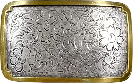 Beautiful sterling silver buckle.