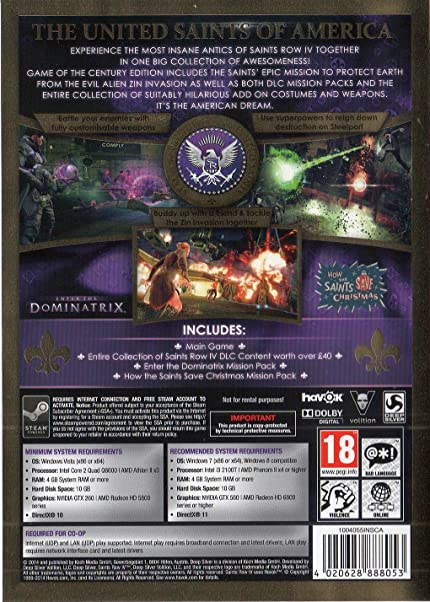 Amazon Com Saints Row  Game Of The Century Edition Germany Video Games