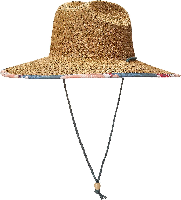 Roxy Womens Pina to My Colada Straw Sun Hat