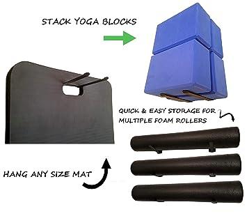Amazon.com: Omega - Perchas de almacenamiento multiusos para ...