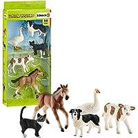 Schleich Assorted Farm World Animals Action Figures