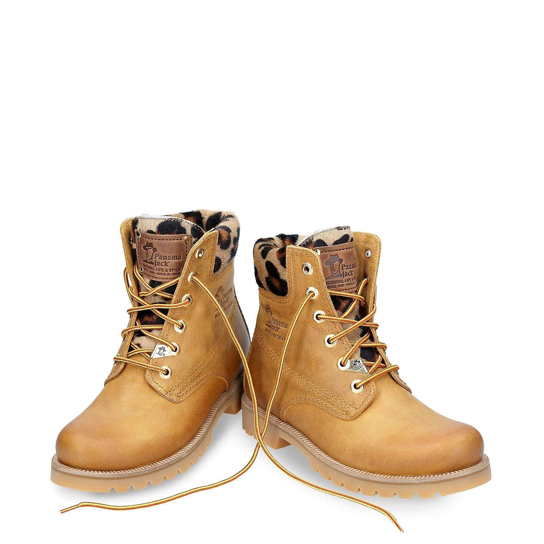 a8137f2528 Panama Jack Panama 03 Leopardo, Botas Biker para Mujer: Amazon.es: Zapatos  y complementos