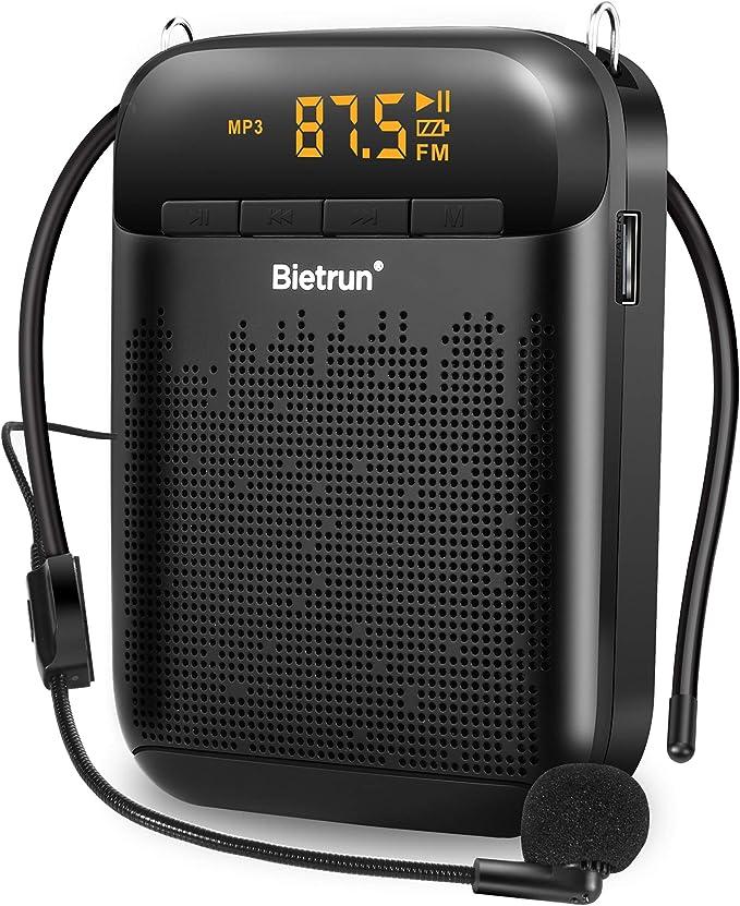 13 Watt Mini Portable Rechargeable Megaphone Speaker Amplifier with Recording