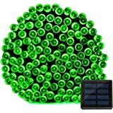 Vmanoo Solar Christmas Lights 72ft 22m 200 LED 8 Modes Solar Fairy String Lights for Outdoor, Gardens, Homes, Wedding, Christmas Party, Waterproof (Green)