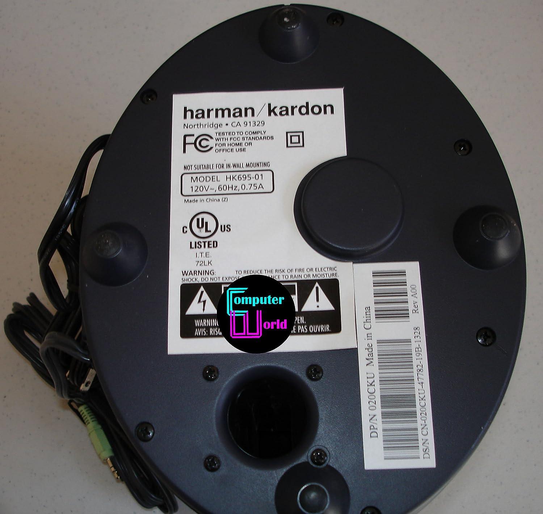 harman kardon hk695 01. amazon.com: harman kardon hk695-01 subwoffer multi media speaker: computers \u0026 accessories hk695 01