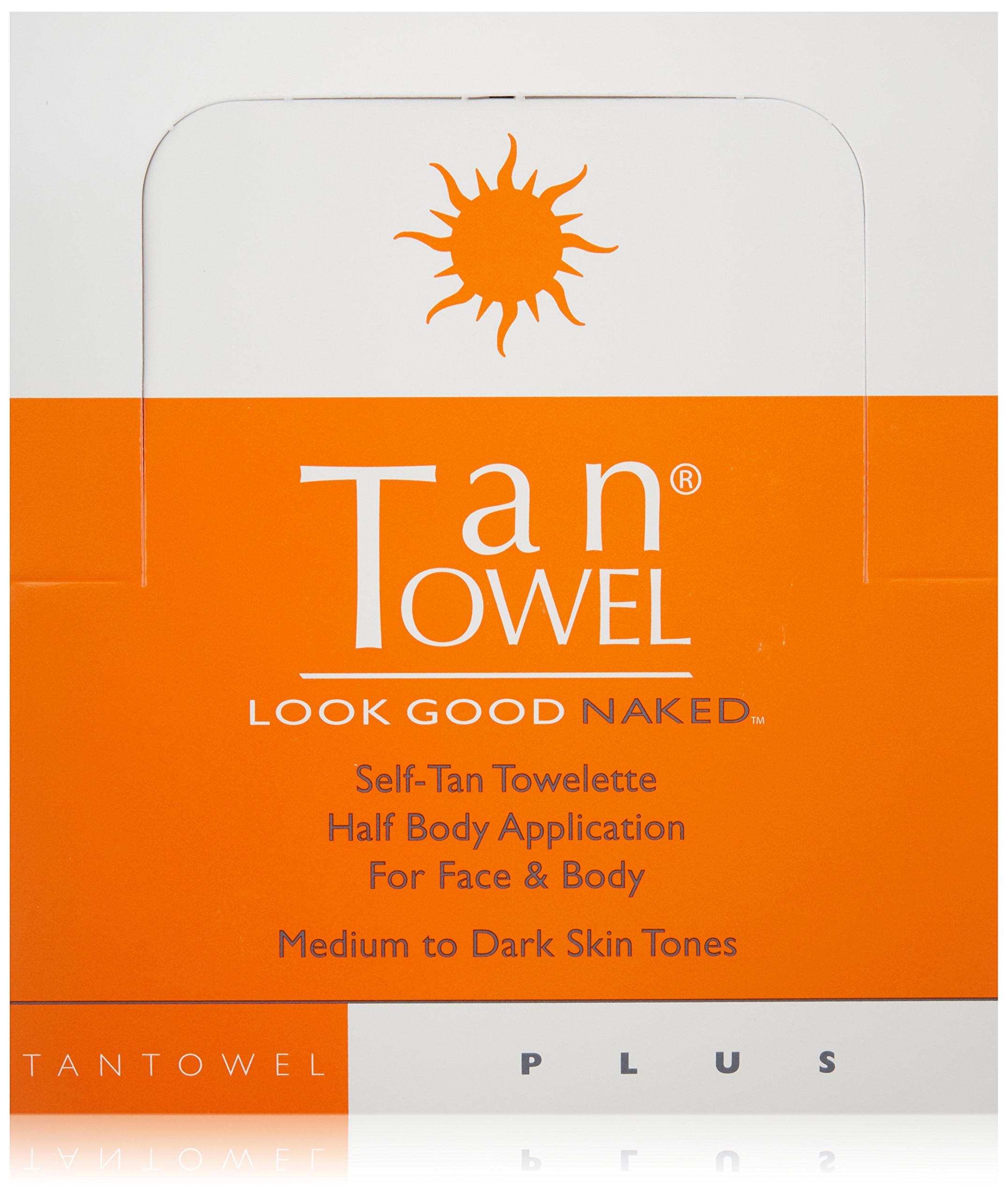 Tan Towel Self Tan Towelette Plus, 50 Count