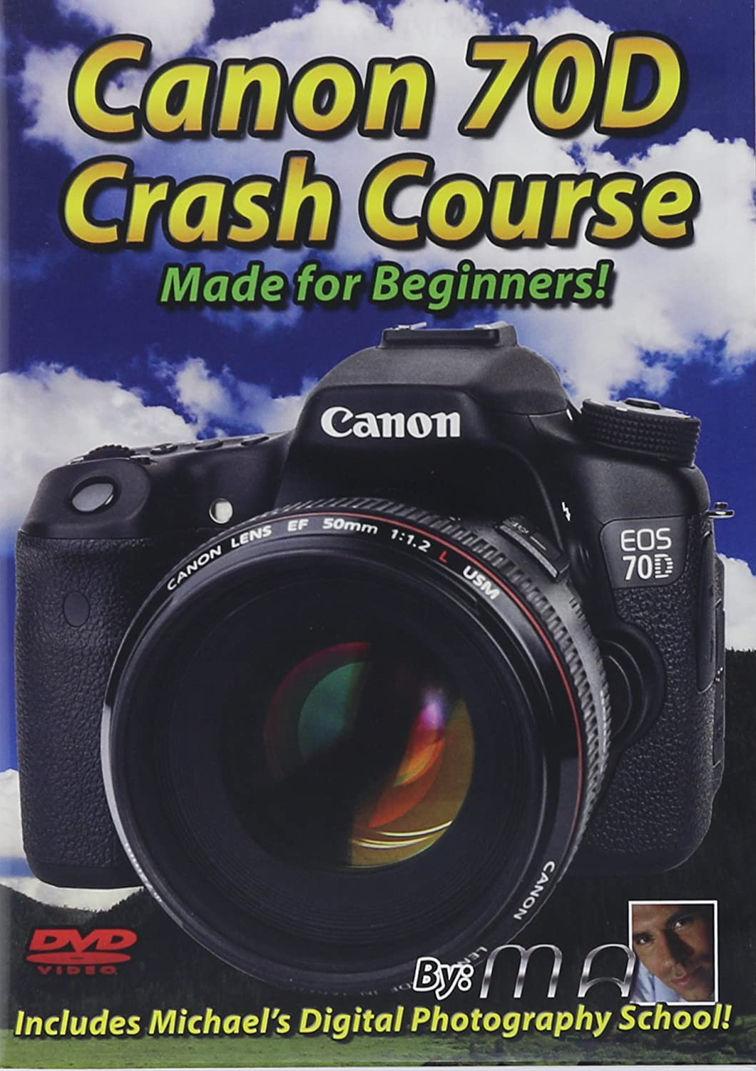Amazon Com Canon 70d Crash Course Training Tutorial Dvd Made For Beginners Michael The Maven Movies Tv