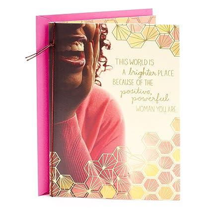 Amazon Hallmark Mahogany Religious Birthday Greeting Card For