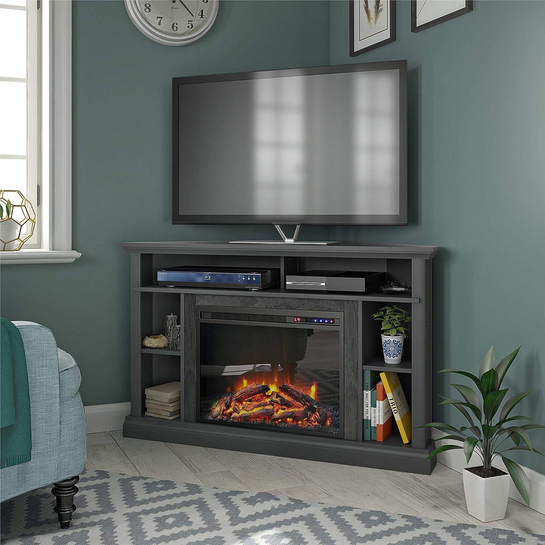 Ameriwood Home 1805408COM Soporte de TV para Chimenea de 50 ...