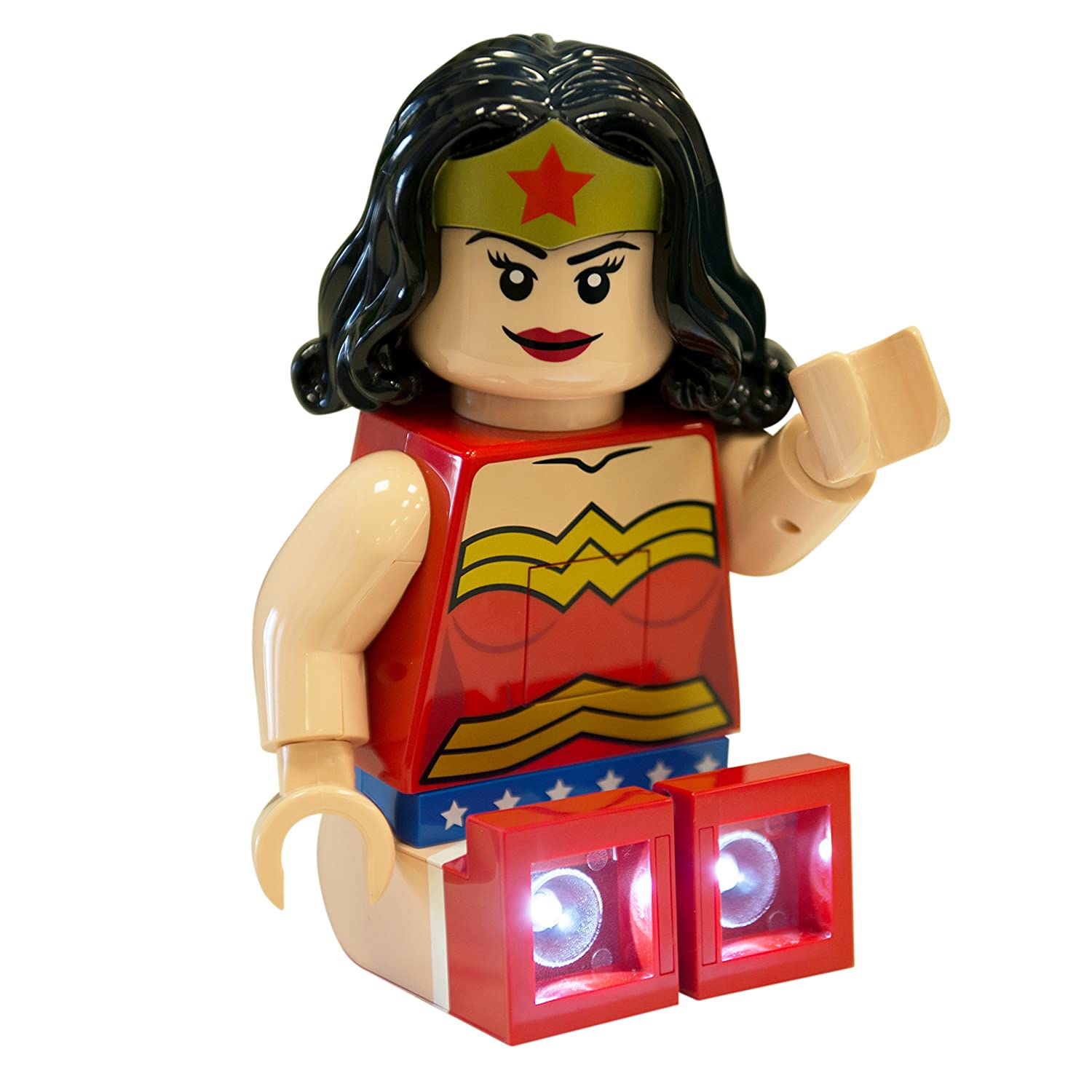 LEGO DC Super Heroes - Wonder Woman LED Torch Night Light/Reading Light - 8 in