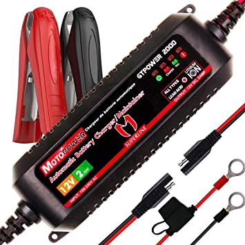 how to use a battery charger 12v