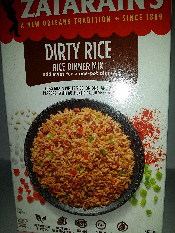 Zatarain's Original Dirty Rice Mix - Gluten Free (3 Pack)
