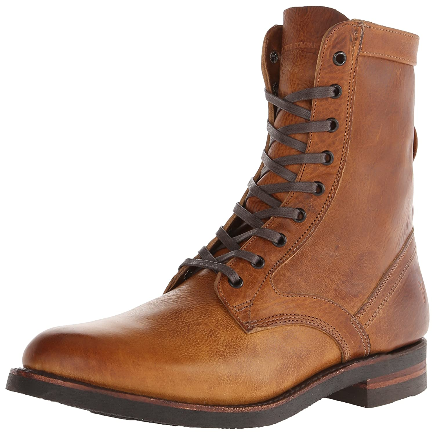 Camel FRYE Men& 039;s Engineer Tall Lace Stiefel