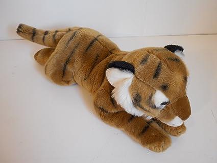 Amazon Com Toys R Us Animal Alley 18 Tiger Plush Toys Games