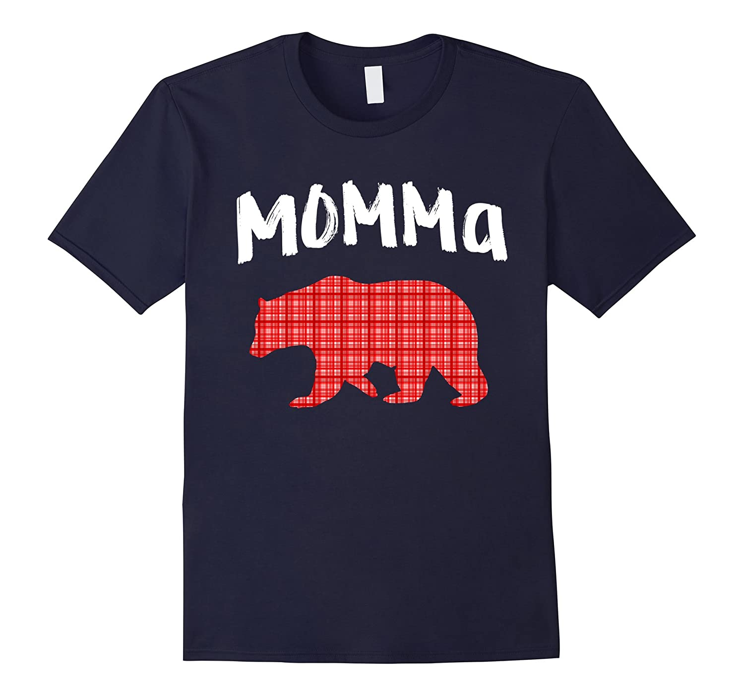 Adorable Cute Momma with a bear walking t-shirt (mother day)