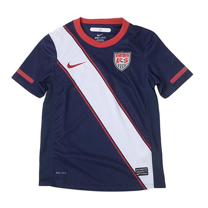 039e9c5a03c Nike USA Youth Navy Blue World Cup Replica Home Performance Soccer Jersey  (X-Large