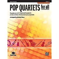 Pop Quartets for All: Cello/String Bass, Level 1-4