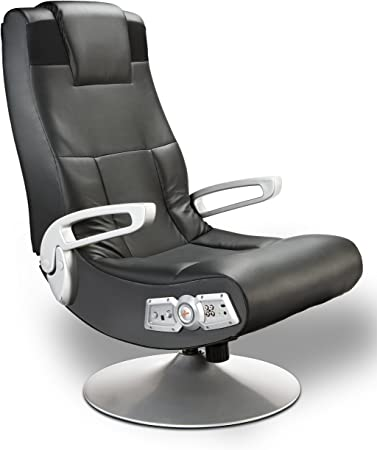 X Rocker SE 2.1 Black Leather Video Gaming Chair - The Best Multi-Purpose Ergonomic Gaming Chair