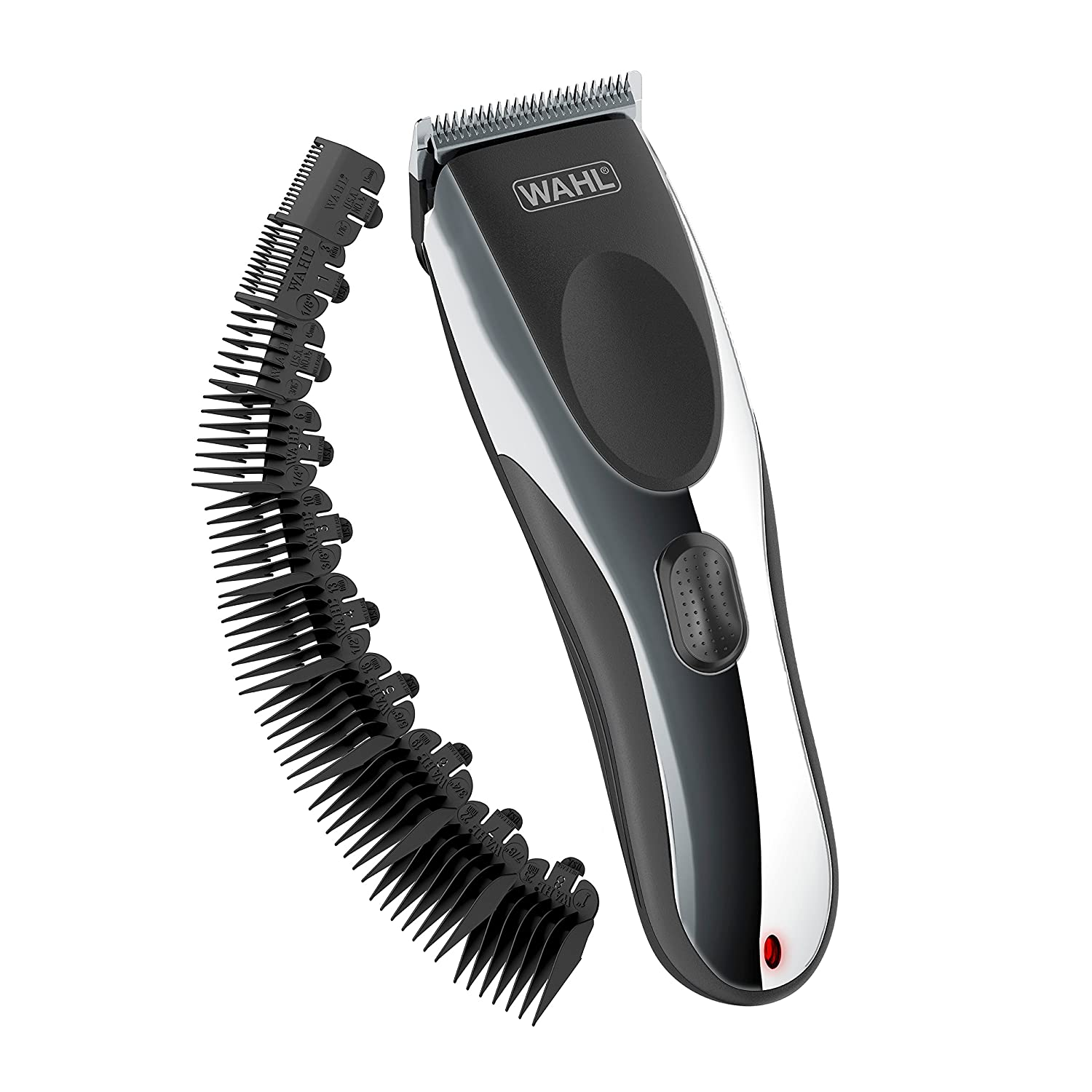 Wahl Clipper Rechargeable Cord/Cordless Haircutting Kit 79434 Cord/Cordless Rechargeable Grooming Kit, Clippers for Haircutting and Beard Trimming