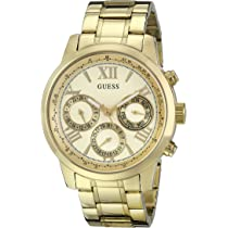 ... GUESS Womens Stainless Steel Classic Bracelet Watch