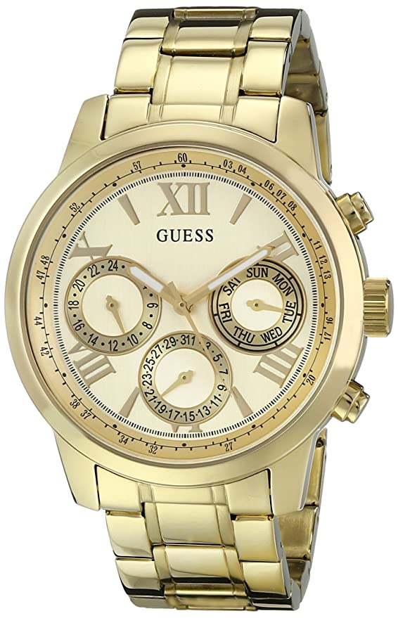Amazon.com: Guess Mujer u0330l1 Sporty Gold-tone Acero ...